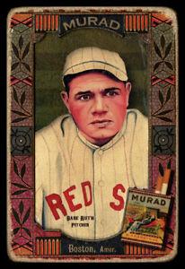 Helmar Oasis #82 Babe RUTH Boston Red Sox HOF