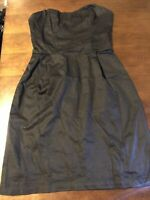 H&M Women Little Black Casual Dress  Strapless Size 2