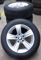 4 BMW Winterräder Styling 391 3er F30 F31 BMW 225/55 R16 95H M+S ALUFELGEN RDCi