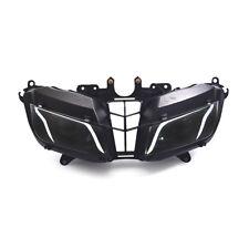 KT Complete LED Headlight Assembly for Honda CBR600RR 2013-2018 Halo Eye DRL