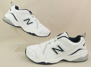 *NEW!* New Balance 608v4 Training/Walking Sneakers White/Navy Blue 11.5D