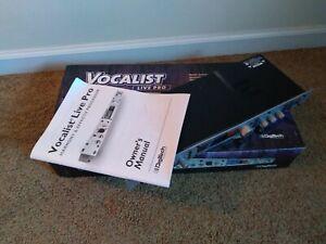 Digitech Vocalist Live Pro Vocal Harmony Harmonizer Rackmount Unit