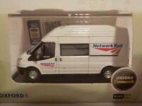 Model Van, Ford Transit - Network Rail, 1/76 New