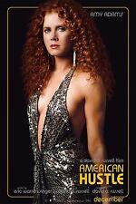 "American Hustle Poster (24 x 36"") Amy Adams Glossy Photo Paper Home Decor Art"