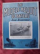 ▬► Modélisme Le Modèle réduit de Bâteau N° 73 de 1956 avec Plan du Viking