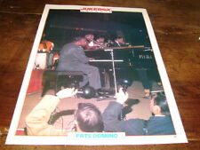 FATS DOMINO - Mini poster couleurs JUKEBOX !!!!!!!!!!!!!