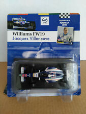 New listing Williams FW19 #3 Jacques Villeneuve World Champion formula 1 1997 1:43 Altaya