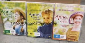 Anne Of Green Gables DVD Collection Trilogy Brand New Unsealed Australian R4