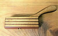 Mahogany Squirrel Tail Pattern Makers - Curved Sole Plane