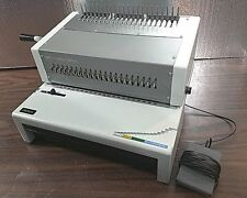 GBC C800PRO PUNCH BINDER PLASTIC COMB BINDING MACHINE IBICO EPK21 TESTED