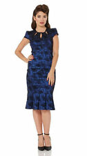 Polyester Cap Sleeve Wiggle, Pencil Formal Dresses for Women
