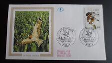 FDC Enveloppe Premier Jour - CEF - JJ Audubon - 25/02/1995 - Paris - La buse pat