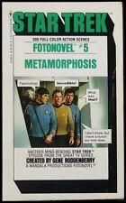 Star Trek Fotonovel #05 Metamorphosis - Bantam PB 1st PRINT 1978