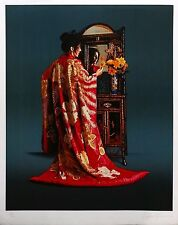 "DOUGLAS HOFMANN ""RED KIMONO"" 1984 
