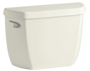 KOHLER K-4436-47 Wellworth 1.28 gpf Toilet Tank w/Class Five Flushing Technology