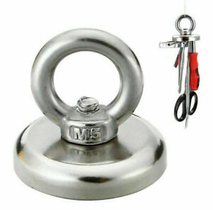 Fish Hook Finder 20/25/32/36/48mm strong salvage magnet pot fishing sea OMAD