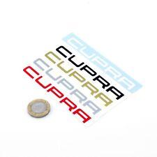 Seat Cupra Sticker Decal Car Vinyl 100mm x2 Custom Sizes & Colours Mirror Window