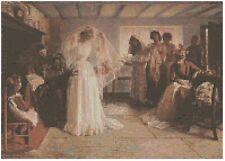 The Wedding Morning Cross Stitch Kit Florashell