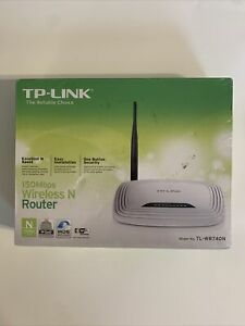 TP-Link TL-WR740N 150 Mbps 4-Port 10/100 Wireless N Router - BRAND NEW SEALED