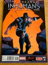 The Uncanny Inhumans #0 Marvel Comic Near Mint Condition