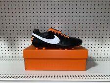Nike Premier II FG Mens Soccer Cleats Size 9.5 Black Orange Kangaroo Leather