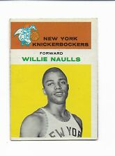 1961 Fleer Basketball #32 WILLIE NAULLS NEW YORK KNICKERBOCKERS FREE SHIPPING