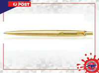 Parker GT Gold Ball pen With Gift box Brand new Blue Ink PARKER GOLD JOTTER PEN