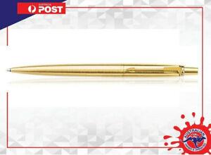 Parker GT Gold Ball pen With Gift box Brand new Blue Ink PARKER GOLD JOTTER PEN