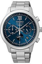 SEIKO SSB137P1,Men's CHRONOGRAPH,STAINLESS STEEL CASE,date,100m WR,SSB137