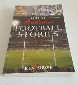 Great Australian Football Stories by Ken Piesse AFL VFL