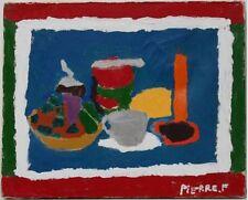 Peintures du XXe siècle et contemporaines sur toile pour art brut, outsider art