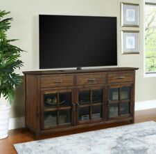 "Nicholas 70"" Media Console, Brown - RETAIL PRICE $1349 FREE SHIPPING"