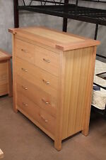 "Tassie oak ""Lauceston"" Tallboy Chest of drawers--Direct Factory Outlet"