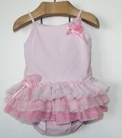 Kate Mack Sugar Pink Tutu One Piece Swimsuit Girl Size 24 Months