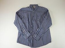 mens dockers classic fit medium dress shirt long sleeve button down antiwrinkle