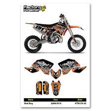 2009 - 2014  KTM SX 65 Dirt Bike Graphics kit Motocross Graphics Decal