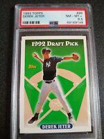 1993 Topps Baseball Derek Jeter Rookie #98 PSA 8.5!  NM/MT+!