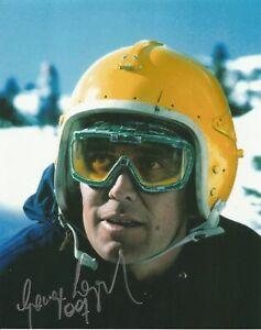 George Lazenby as James Bond hand signed photo UACC reg Dealer inc COA