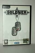 SOLDNER SECRET WAR GIOCO USATO BUONO STATO PC CDROM VERSIONE ITALIANA GD1 38575