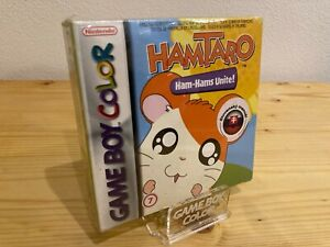 Hamtaro Ham-Hams Unite! Very Rare GameBoy Color Game, New Sealed