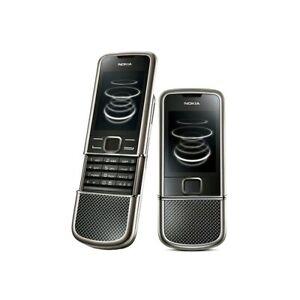 Cellulaire Nokia 8800 Carbon Arte Black Titane Umts Oled Luxe Téléphone