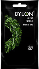 New Dylon Fabric Hand Dye - Fabric Dying - Olive Green