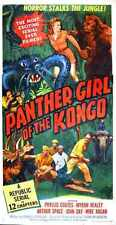 Panther Girl OF Congo Poster 02 A3 Box Canvas Print