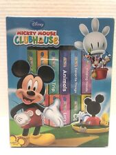 Disney Mickey Mouse Clubhouse 12 Board Book Block Box Set Bright Colors