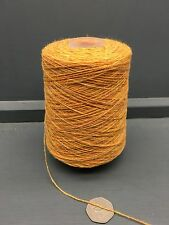 200G ORANGEY YELLOW MIX 2/11NM LAMBSWOOL YARN SUNRISE