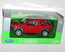 Land Rover FREELANDER Red 1 24 Welly We2077 Model