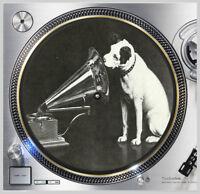 "His Masters Voice #2 Victor Slip mat 12"" LP Scratch Pad DJing Slipmat Audiophile"