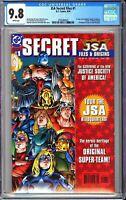 JSA Secret Files #1 CGC 9.8 White Pages 1999 3705489025 Hawkgirl
