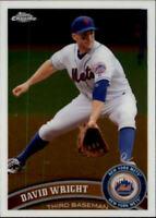 2011 Topps Chrome Baseball #5 David Wright New York Mets