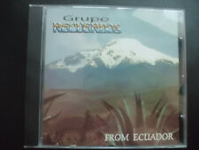 GRUPO  RECUERDOS  -   FROM  ECUADOR    ,  CD  ,  INKAS , ANDEN , WORLD
